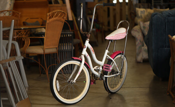 sharing center thrift store bike